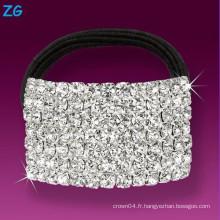 Bande de cheveux en cristal pleine et élégante en cristal, bande de cheveux en cristal pour filles, bandeaux de mariage en strass