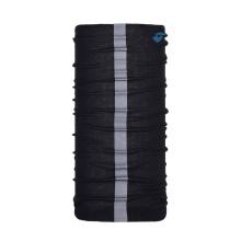 100% polyester scarf custom design bandnana solid reflect strip neck gaiter