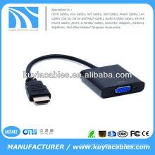 VGA Женский для HDMI Мужской адаптер кабель