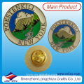 Metal Lions Club Round Coin Badge Buttons