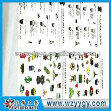 0,17 mm heißen verkaufen Aufklebern für Stoff