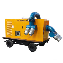 Mobile Working Mute Diesel Water Trash Fire Pump