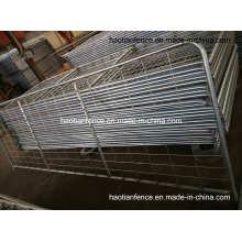 Portão e cercas agrícolas de aço para serviços pesados (tela de arame soldado galvanizado a quente 100X200mm)