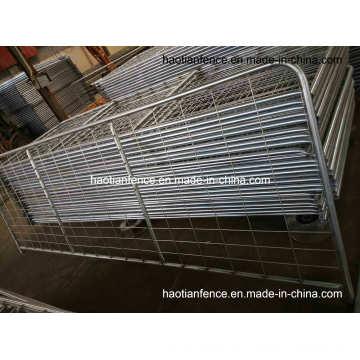 Puerta y cercas de acero de alta resistencia (malla de alambre soldada con autógena galvanizado en caliente 100X200mm)