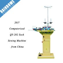 2017 QY-282 meilleur prix informatisé chaussette toe machine à coudre de la Chine