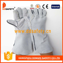 Grey Cow Split Welding. Ab Grade. Reinforced on Palm Glove (DLW646)