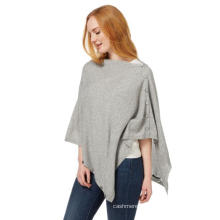 Knitted Women's Pullover Cashmere Poncho