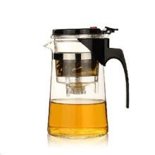 Théière à thé en verre Gongfu Press Art Cup Théière