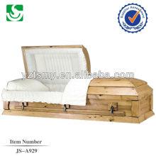 JS-A929 caixões de caixa de madeira