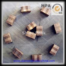 Segmentos de diamante granito