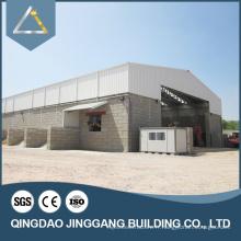 Bâtiment d'entrepôt préfabriqué Structures de construction de toits en acier léger