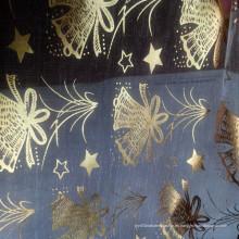 Hilo de vidrio decorativo para la tela de Navidad