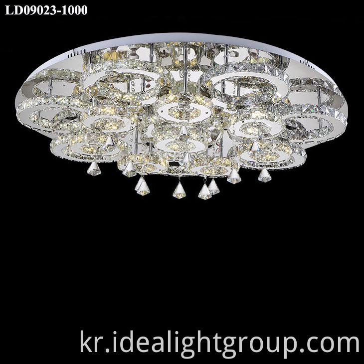 lighting fixture crystal lighting