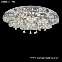 decoration ceiling lighting fixture crystal lighting