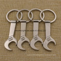 Custom Zinc Alloy Wrench Bottle Opener with Keyring