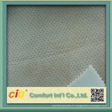 Tissu en laine mélangée colorée de haute qualité