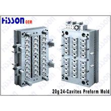 24 Cavity 20g 28mm Pet Preform Mould