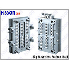 24 Cavity 20g 28mm Pet Preform Mould