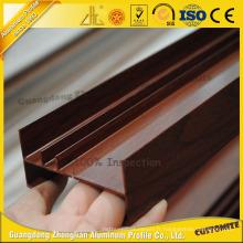 Feuille en aluminium de grain de bois de vente chaude