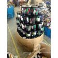 Pot en plastique d'emballage 25pcs corde de poulpe élastique