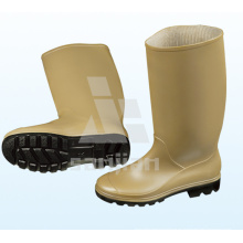Jy-6246 baratos botas de lluvia de goma de plástico