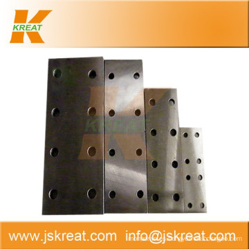 Elevator Parts|Guiding System|Elevator Cold-Drawn Guide Rail Fishplate