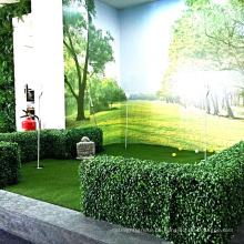Garten liefert dekorative künstliche Hecken im Freien in Pflanzgefäßen