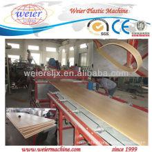 SJSZ-80/156 wpc decorative Plastic board /plate production line