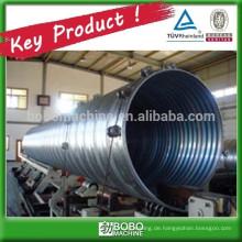 Metallische Wellrohr-Rohrmaschine