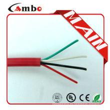 Hecho en China 75 grados nuevo pvc chaqueta 1000ft rojo FPL FPLR ul listado de alarma de incendio