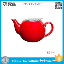 Novo bule de chá quente sem fio vermelho água assobiando