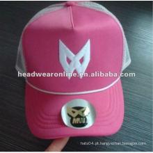 Tampão do camionista do chapéu / engranzamento de 5panels / tampões dos esportes com bordado