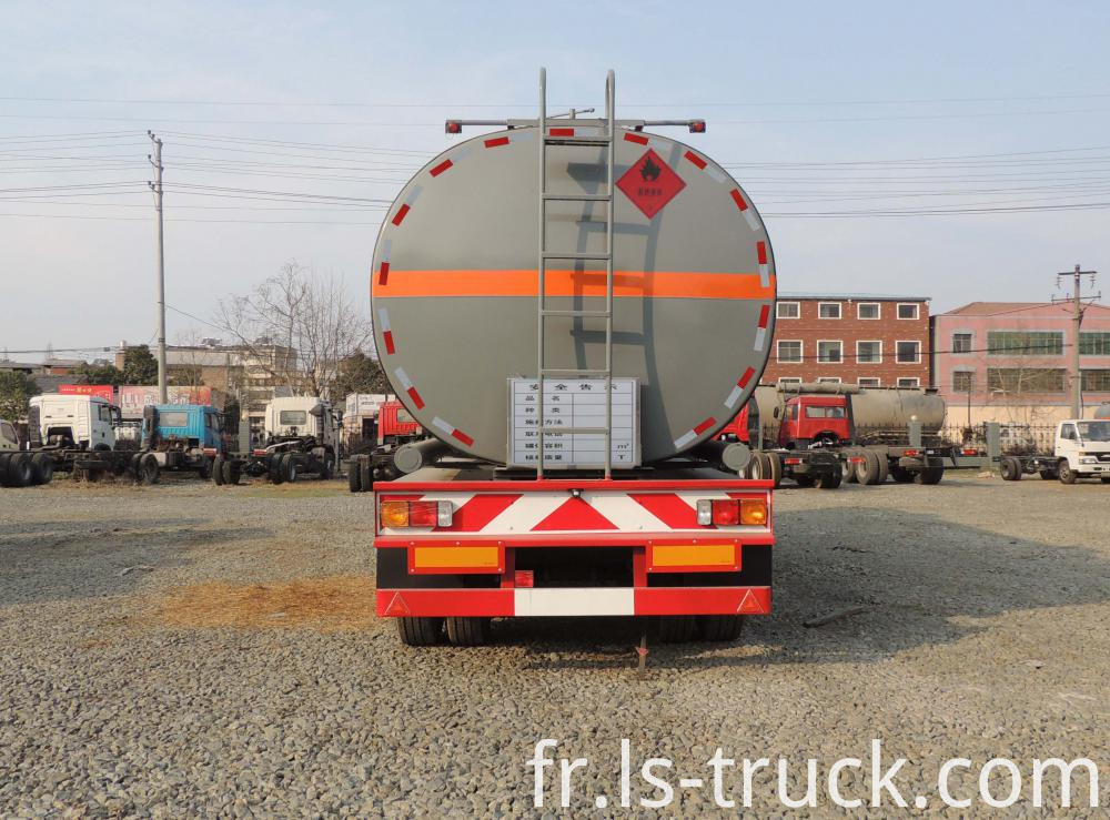 bitumen semi trailer