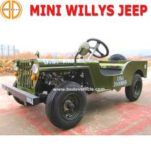 Presagie el Quanlity seguro nuevo niños 150cc Mini Jeep Willys para la venta detalle