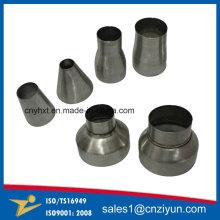 Cone de tubulação de escape de aço inoxidável personalizado