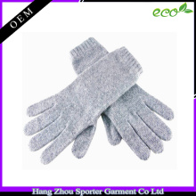 16FZCG03 winter glove warm & comfortable cashmere glove for women