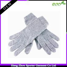 16FZCG03 luva de inverno quente e confortável luva de cashmere para as mulheres