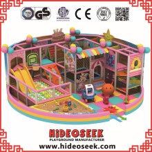 Reizende rosa Innenspielplatz-Ausrüstung für Supermarkt