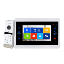 Factory Price AHD Aluminum alloy panel 4 wires video intercom with Night Vision