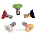 """(5 Pcs Package) 1/4"""" Stainless Steel 4000 PSI Quick Connect High Pressure Spray Tip Nozzle"""