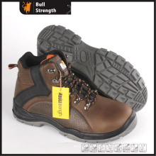 PU/PU New Outsole Genuine Leather Safety Boot with Toe (SN5500)