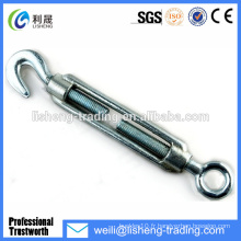 Wire Galivanized DIN1480 Iron Turnbuckle