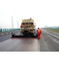 Low power consumption slurry paver