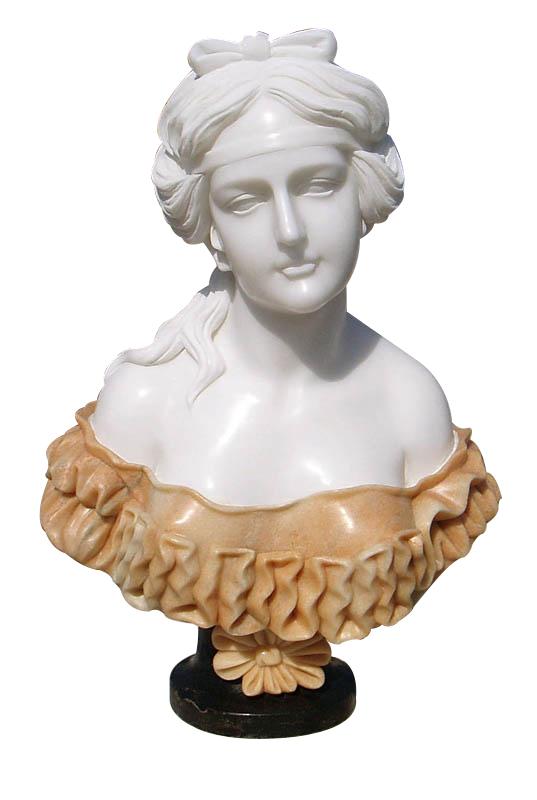 Marble Stone Carved Bust Sculpture