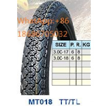 High Teeth Motorcycle Tyre 3.00-17 3.00-18
