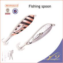 SNL020 baratos aparejos de pesca cebo artificial señuelo de la pesca cuchara de pesca de agua salada