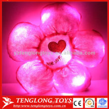 2015 Горячая продажа светодиодной цветок форме музыкальной подсветкой подушку