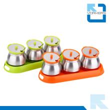 Bouteille d'assaisonnement de haute qualité Spice Shakers Ensemble de sel et de poivre