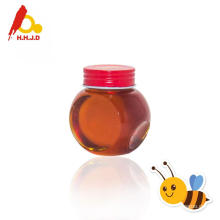 Pure longan bee honey dark amber color