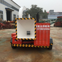 Large Pull Type Wood Branch Crusher Machine